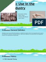 Antibiotics in the Swine Industry