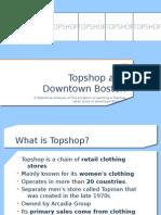 Topshop Presentation