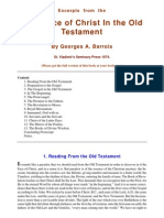 The Face of Christ in the Old Testament - Georges a. Barrois