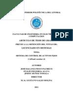 Desarrollo Del Sistema control  de Activos Fijos (1)