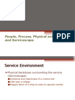 Service Marketing 5 - (People, Process, Physical Evidence and Servicescape)