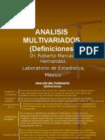 analisis multivariados