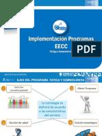Validación Programas Fatiga y Somnolencia EECC
