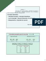 Clase Cap 2.1 Cinetica Q - Ley de Velocidad