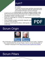 SCRUM, Agile