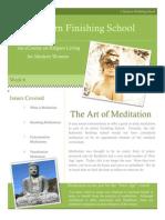 6 art of meditation