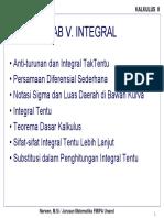 Kalkulus Teori Integral