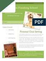 8 personal goal setting