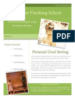 8 personal goal setting