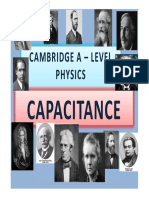 Chapter 18 Capacitance