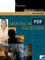 Mental Health Facilities Design Guide