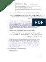 Resume of Hadits on Patience_week#5