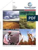 Agricultural Sector Risk Assessment