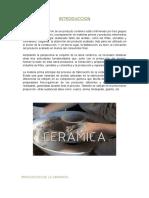 Proceso de Fabricación de La Cerámica