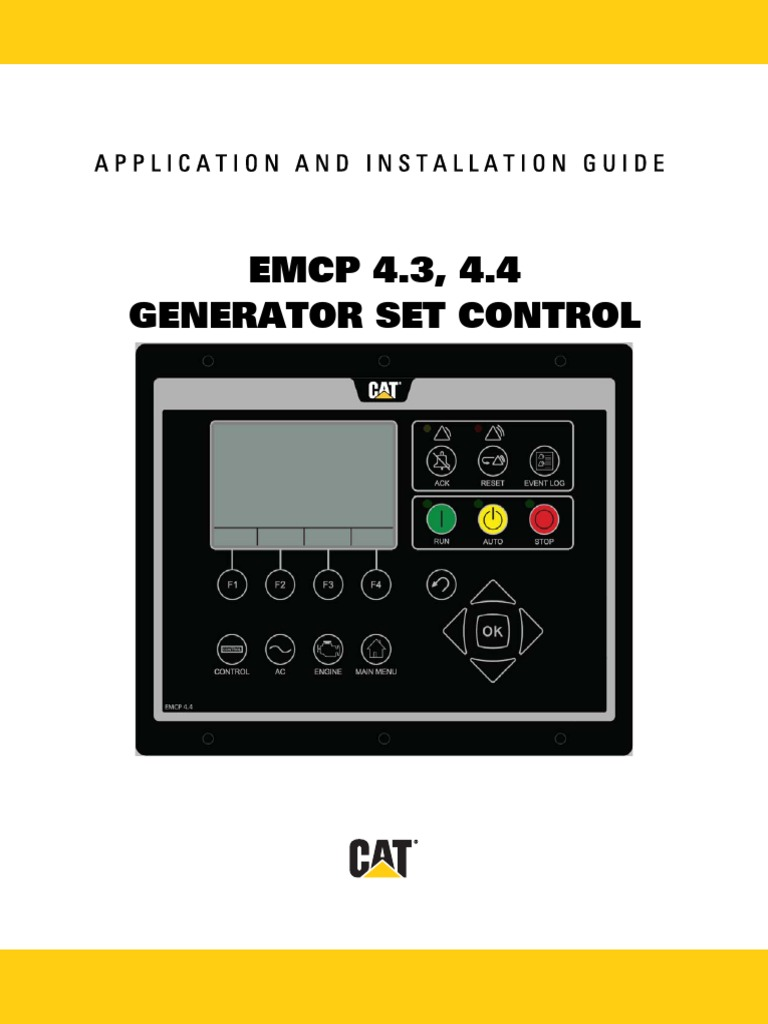 emcp 4 3 4 4 electrostatic discharge battery charger rh scribd com caterpillar emcp 4 manual EMCP College Resource Center