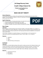 LCRC Music and Art Therapy Guidelines