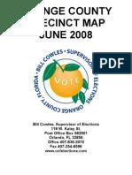 Orange County Florida Precinct Map Book
