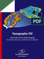 BR Tomographic PIV