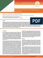 Comparative Study of the Efect of Bile on the Listeria monocytogenes Virulent Strain EGD-e and Avirulent Strain HCC23.