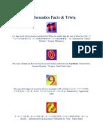 Mathematics Facts & Trivia