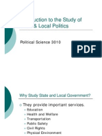 Introduction to the Study of State & Local