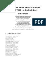 Orhan Veli's Poems