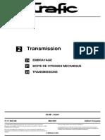 Manuel transmission trafic  2