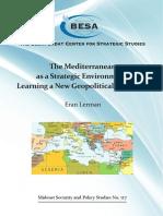 The Mediterranean as a Strategic Environment