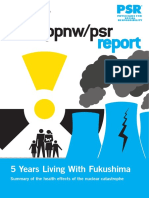 Fukushima Report by PSR 2016