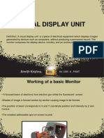 Visual Display Units - Monitors