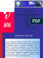 Report of Airtel Ppt