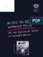 127. HIV and AIDS Workplace Policy