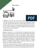 Form Tool Design PROCEDURES