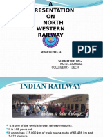 Railway training ppt