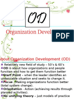 Organizational Dev.