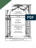 Debussy- Pelleas Libretto