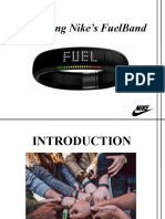 Positioning Nike's FuelBand