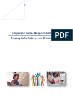 Amway India CSRpolicyfinal