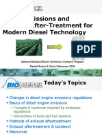 Diesel Emissions and Exhaust After-Treatment