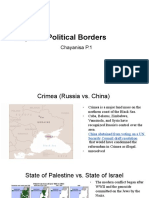 disputed political borders