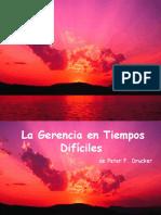 Gerencia Drucker