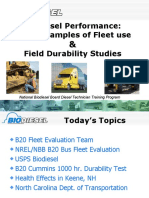 Biodiesel Fleet Case Studies