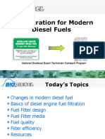 Fuel Filtration for Diesels
