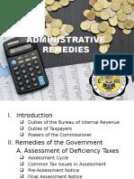 Administrative Remedies