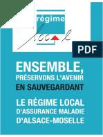 SAUVEGARDER LE REGIME LOCAL D'ASSURANCE MALADIE