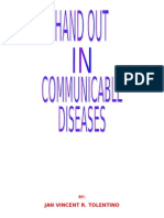 communicable disease hand out