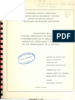 Tesis Diagnostico Cultura Organizacional Corpoven