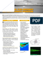 Environmental Fluid Mechanics and Water Resources
