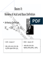Acid-base Equilibria Chem 17 Handout New