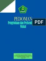 Pedoman Pengelolaan Dan Pengembangan Wakaf -2013